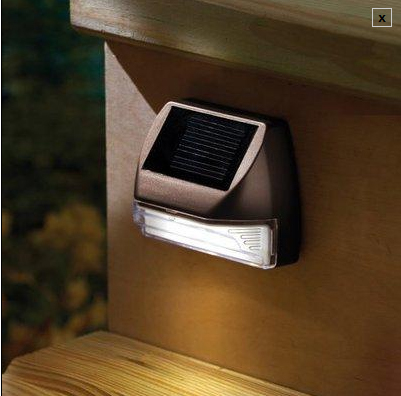 solar deck lighting an extensive range of recessed solar powered deck