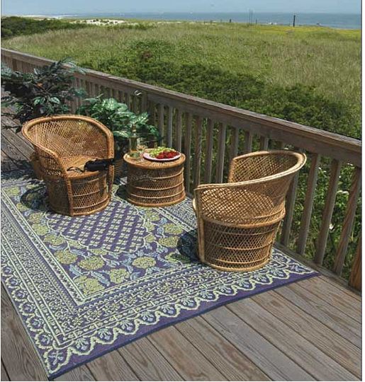 Revitalize your Exterior with Recycled Outdoor Rugs and
