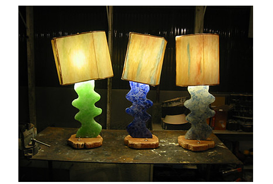 decorative recycled glass art greenstrides sustainable landscape