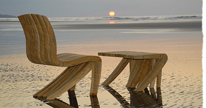 eco chic furniture earthborn the rich ecochic outdoor wood furniture greenstrides sustainable