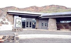 Denali National Park's green visitor center